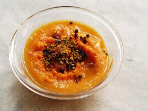 Indian Cream of Coral Lentil Soup