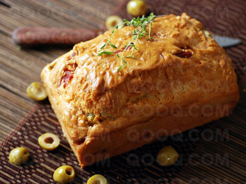 Olive And Cheese Loaf Recipe — Dishmaps