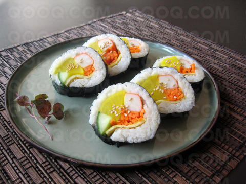 Kimbap entr e froide cor enne qooq for Une entree froide